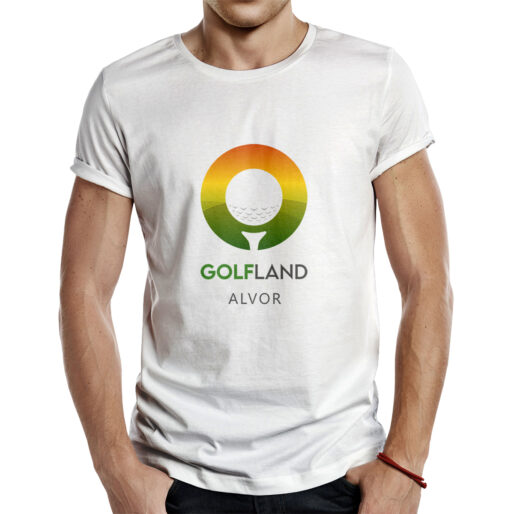 T-shirt Golf Land - Alvor